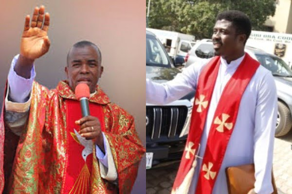A Catholic Priest, Rev. Fr Emmanuel Obimma, Director, Holy Ghost Adoration Ministry, Uke Anambra, Has Donated Food Items Worth About N10 Million To No Fewer Than 4,000 Less Privileged People In The S