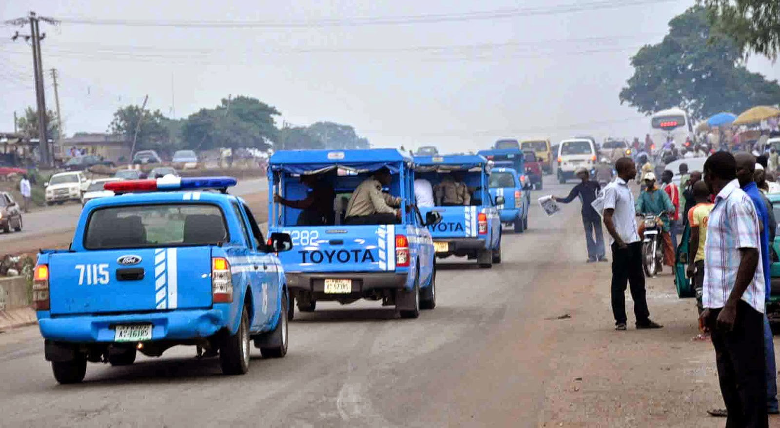 Gunmen Attack Frsc Officials On Lokoja Okene Road