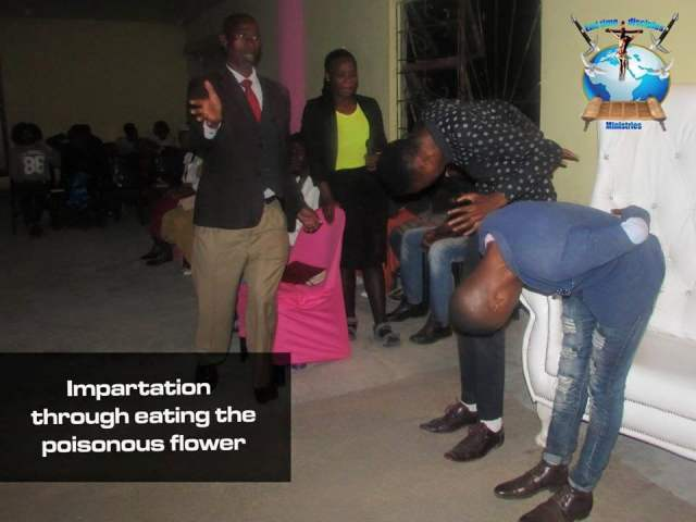 Renown Pastor tells members to eat cockroach, poisonous flower [PHOTOS]