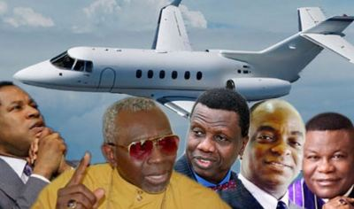 Image result for Nigerian Pastors  Private Jets