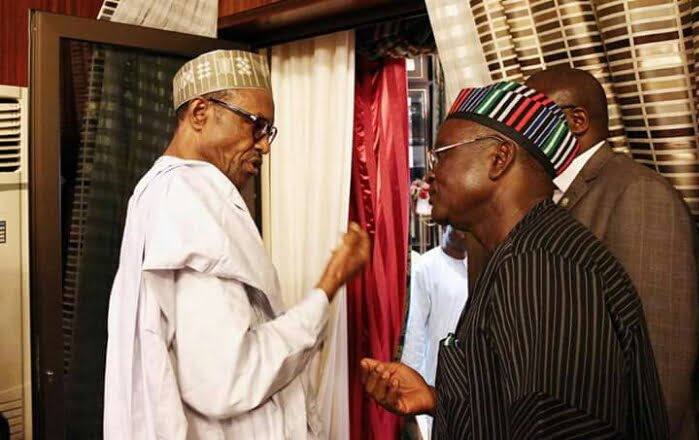 Image result for Buhari – Ortom