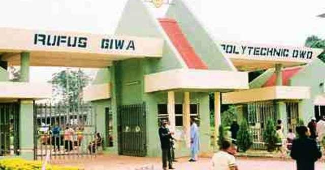 Rufus Giwa Polytechnic Owo RUGIPO - Ondo govt. set to reabsorb sacked Owo Poly staff