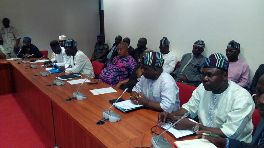 Image result for Benue killings: Ortom appears before Senate Committees