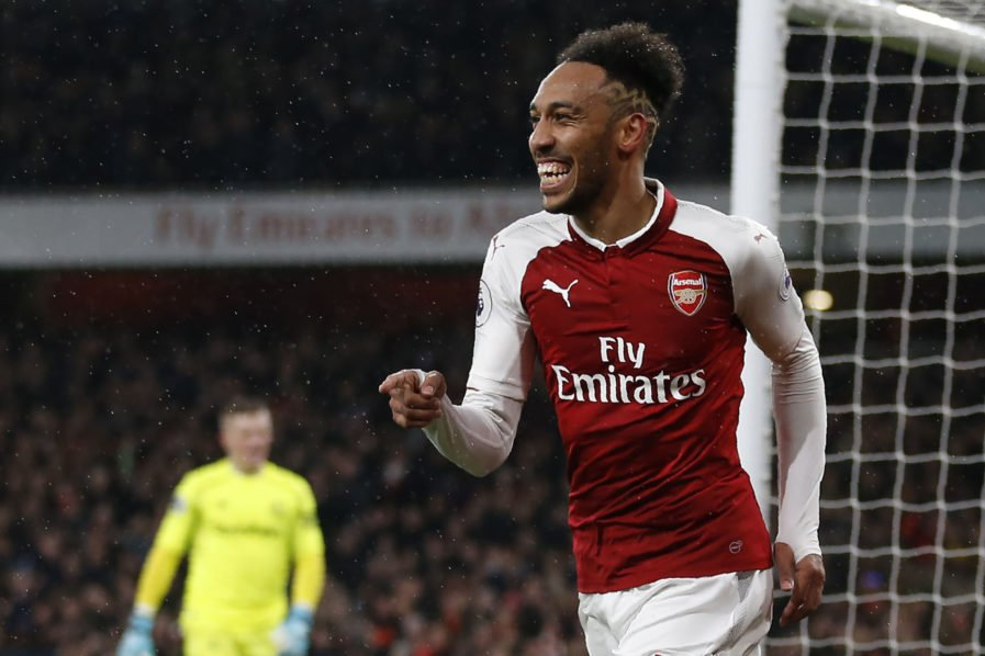 Epl: Aubameyang Beats Mahrez To Player Of The Month Award