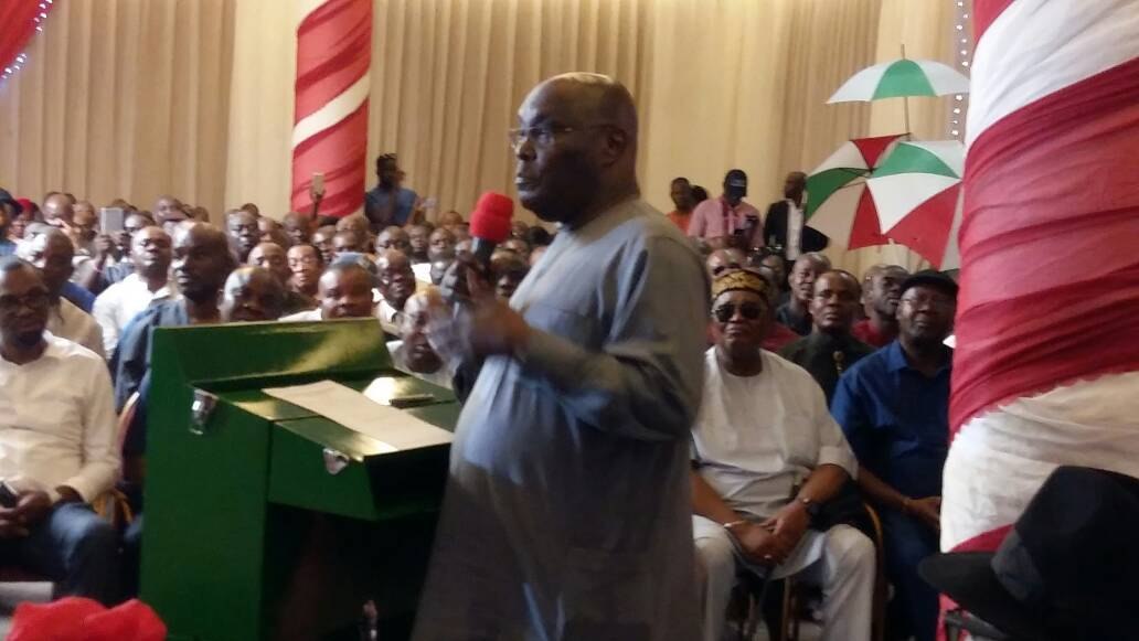 Image result for Atiku officially declares intention to run for president
