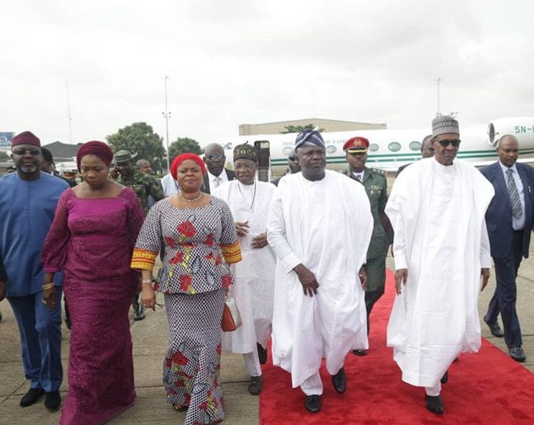 Image result for Buhari, Ambode under fire