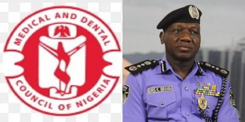 MDCN PoliceIG - Adamawa govt. to flush out quack medical practitioners, says Gov. Fintiri