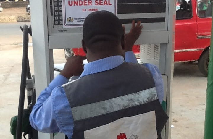 DPR seals four petrol stations - DPR Ibadan seals 167 filling stations in 10 months