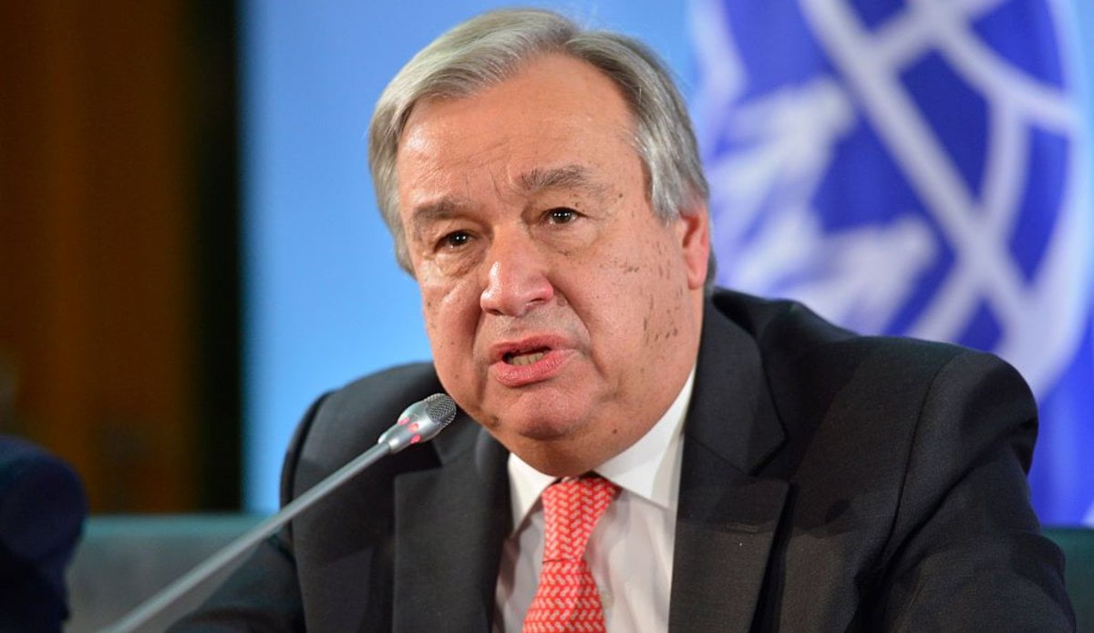 United Nations Secretary General Antonio Guterres Has Commended Nigeria's Response To The Coronavirus (covid 19) Pandemic. Speaking During A Virtual News Briefing In New York On Thursday, Guterres