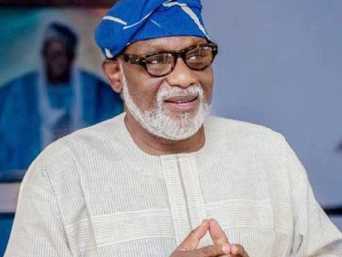 Gov. Akeredolu Criticises Proposed Capital Punishment For Hate Speech