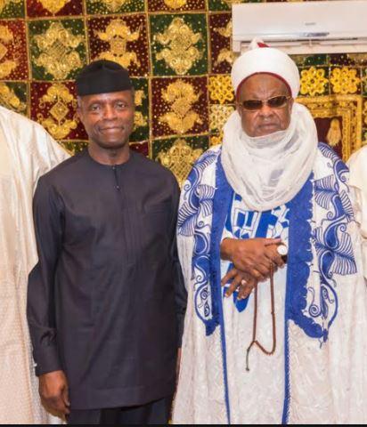 osinbajo1 - Emir of Daura commends Osinbajo for loyalty, honesty to Buhari
