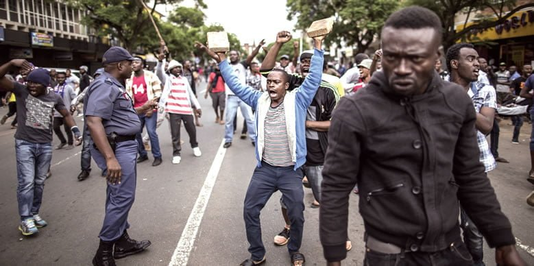 xenophobic protest South Africa - South Africa, Nigeria mend relations, sign 30 trade deals