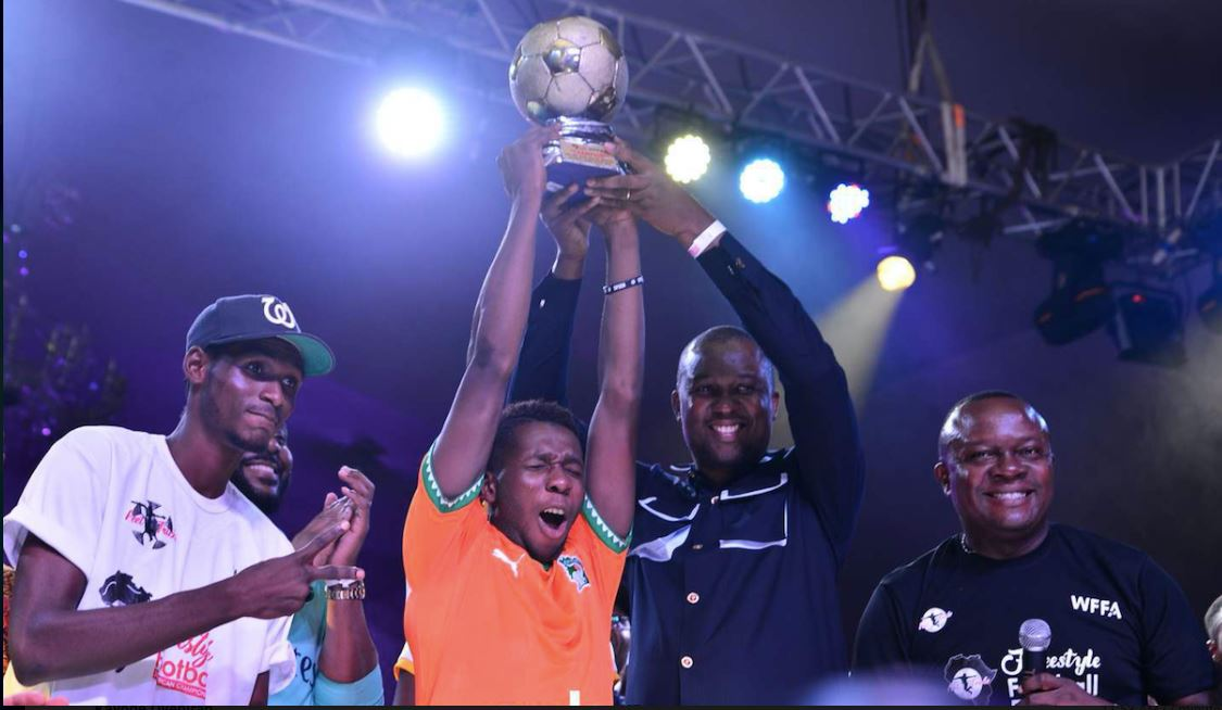 Ivorian African Champion Freestyle Football Abdoul Titi Kone