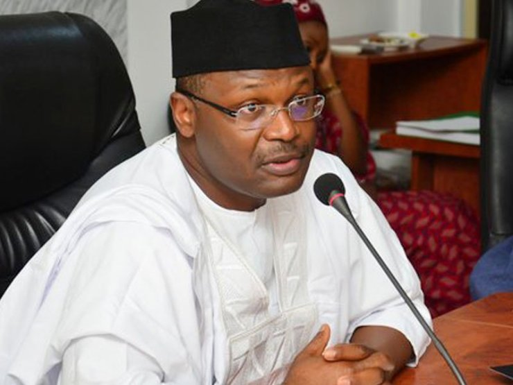 Image result for INEC Prof. Mahmood Yakubu on Friday in Kano  INEC Chairman Demands 1.2 Million Personnel To Conduct 2019 Elections mahmood yakubu 1