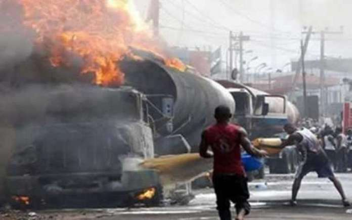 Image result for tanker explosion at ubth