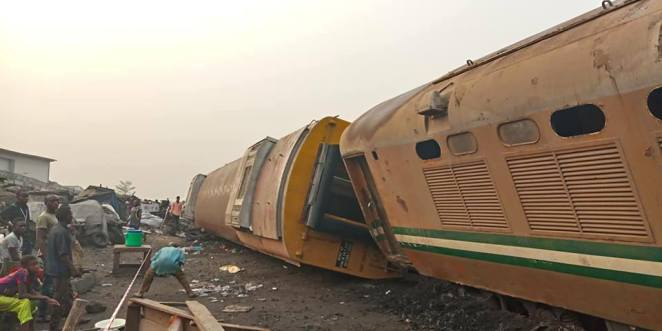Image result for picture of train accidents in Nigeria