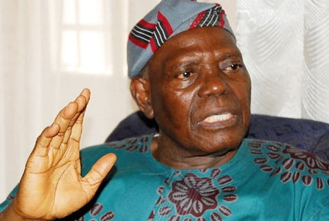 Bisi Akande - What pioneer APC national chairman, Bisi Akande told lawmakers-elect