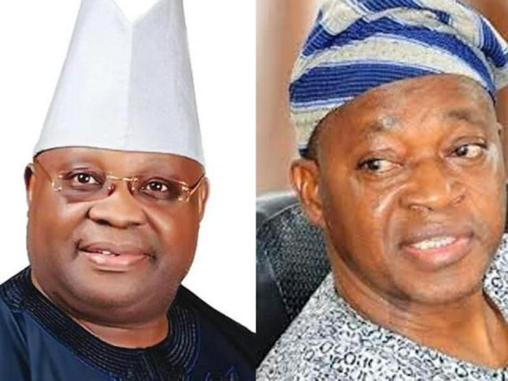 Image result for adeleke oyetola  OSUN BATTLE! GREAT PANIC HITS ADELEKE AND OYETOLA'S CAMPS AS SUPREME COURT IS TO GIVE FINAL JUDGMENT ON WHO BECOMES THE AUTHENTIC GOVERNOR Adeleke and Oyetola