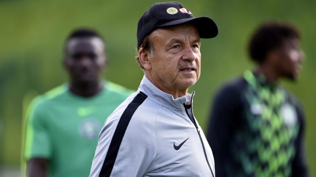 Afcon Nigeria Rohr