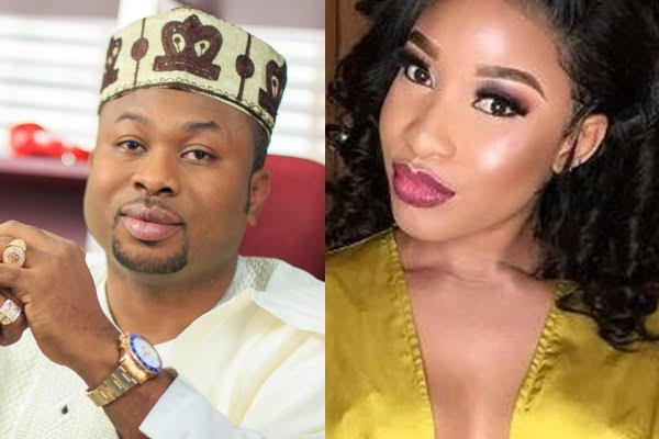 Churchill Tonto Dikeh - Tonto Dike's ex-husband, Churchill reacts to being '40 seconds man' in bed