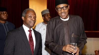 President Muhammadu Buhari and his Vice, Prof. Yemi Osinbajo
