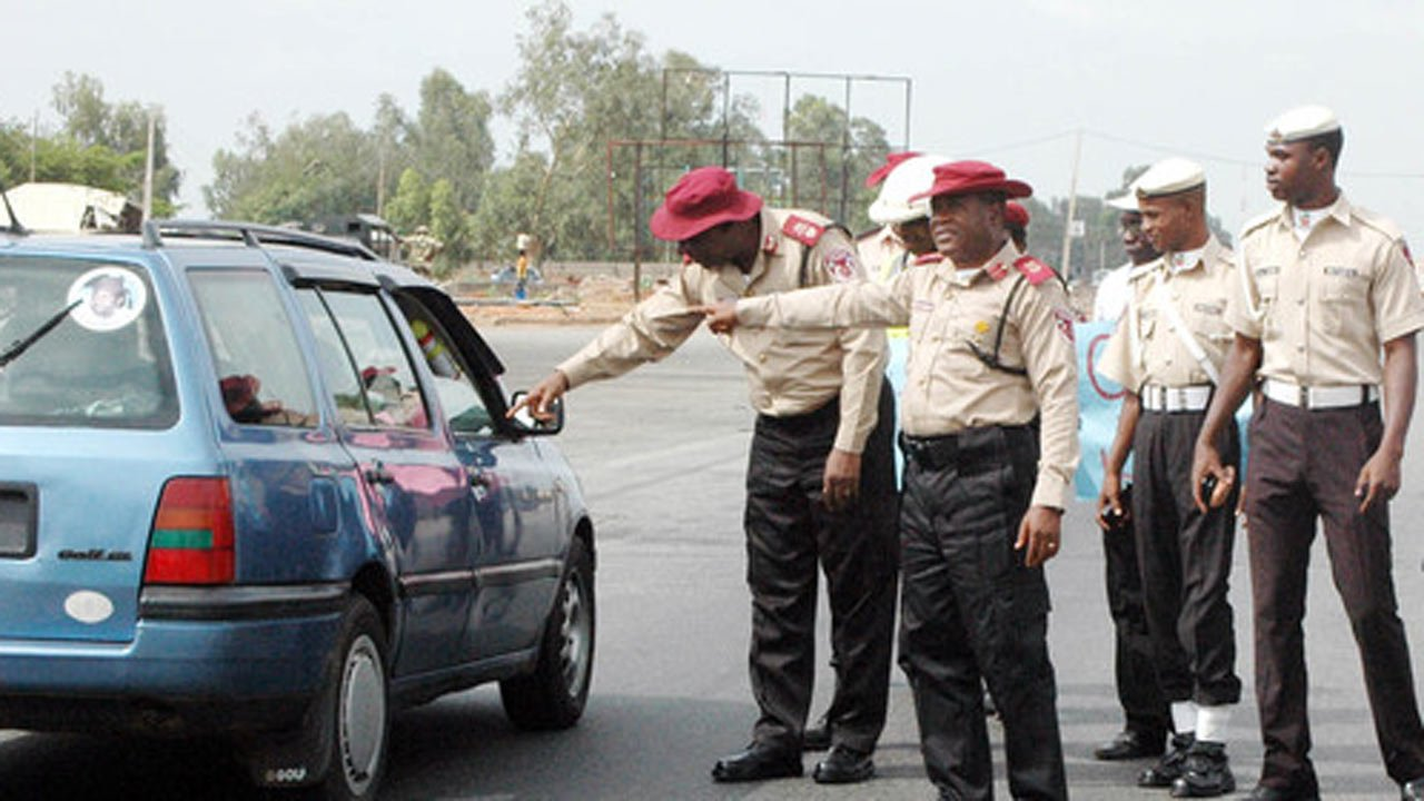 Federal Road Safety Corps FRSC logo - Truck kills woman on commercial motorcycle in Ogun