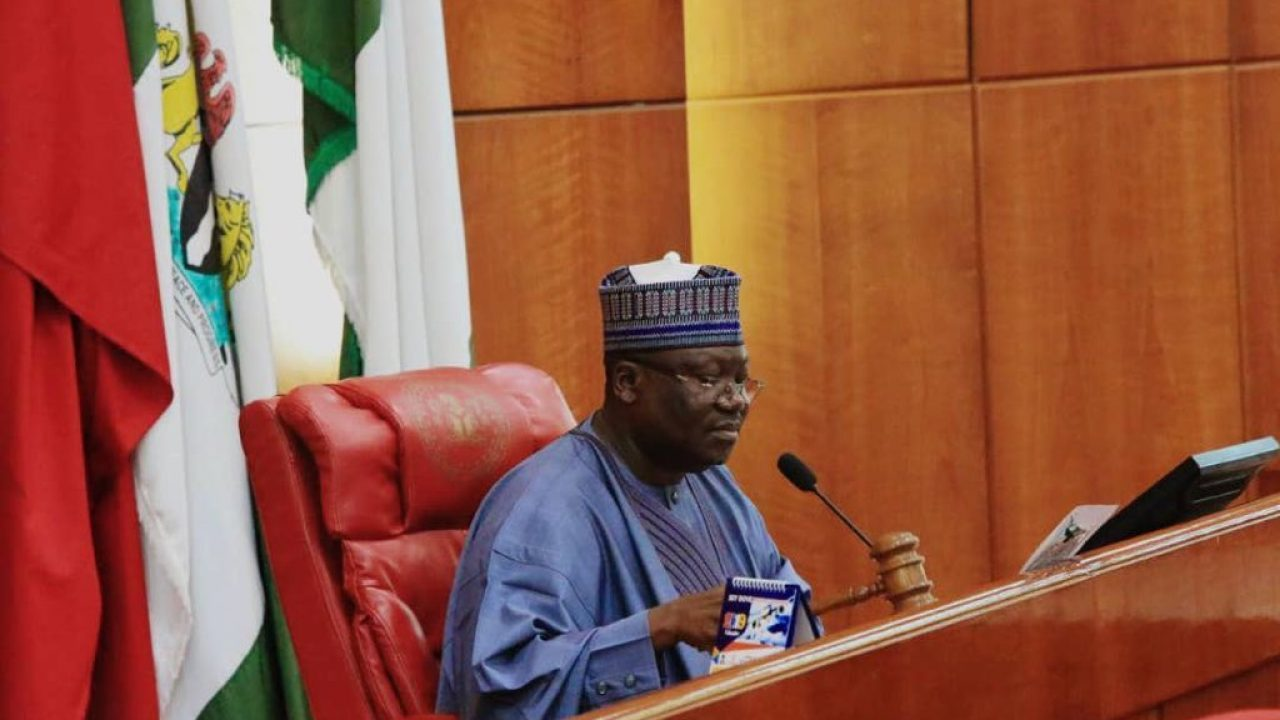 President Of The Senate, Ahmad Lawan, On Wednesday, Urged The Federal Government To Ensure Equity And Fairness In The Distribution Of The Stimulus Package Across The Country. Lawan, According To A P