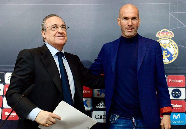 Perez Zidane 89372 - Transfer: How Zidane, Real Madrid board clashed over Pogba, Eriksen
