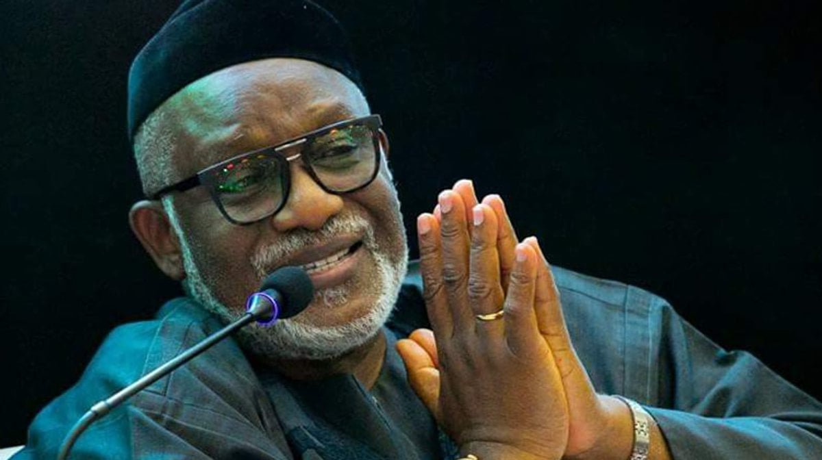Flood: Akeredolu Orders 3 Weeks Holiday For Public Primary, Secondary Schools Submerged In State