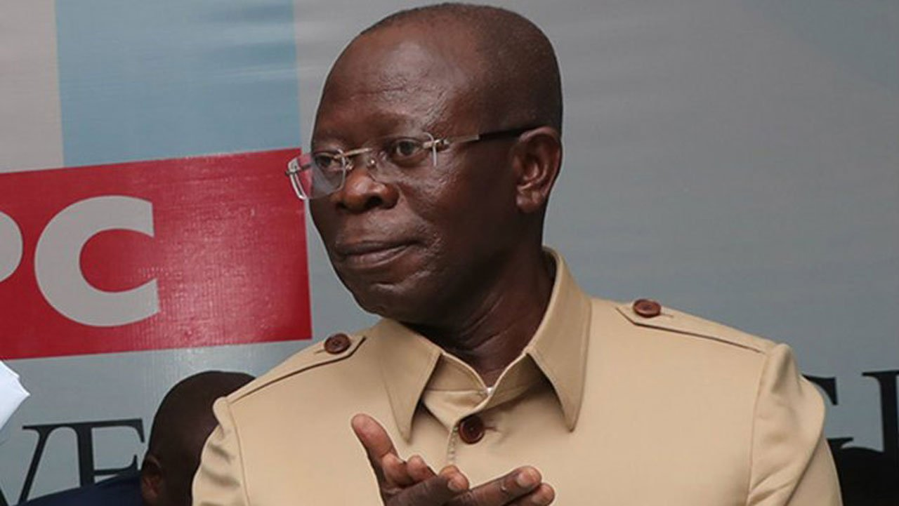 adams oshiomhole - Bayelsa guber: How Gov. Dickson caused Buhari pains - Oshiomhole
