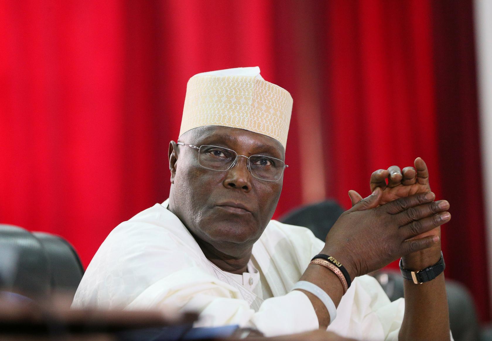 c5ff686f atiku - PDP vs APC: What Atiku did at Presidential Tribunal on Friday