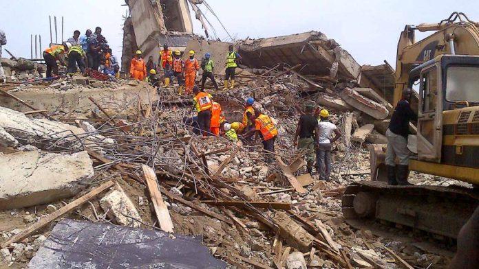 Lagos collapsed building