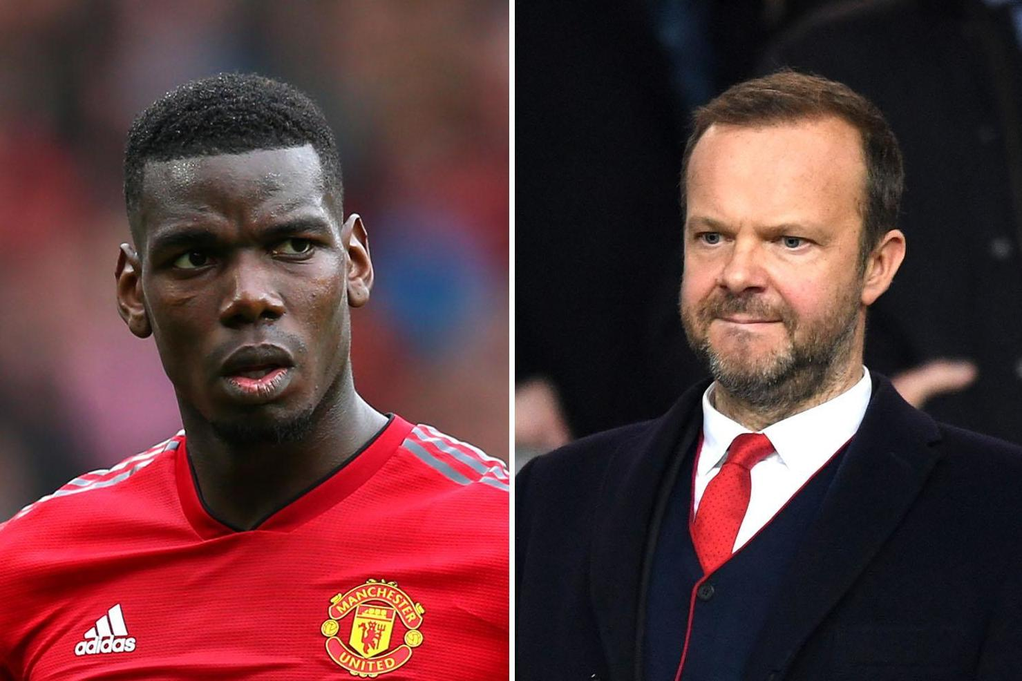 pogba woodward - Man Utd: Ed Woodward told to sign two players for Pogba's sake