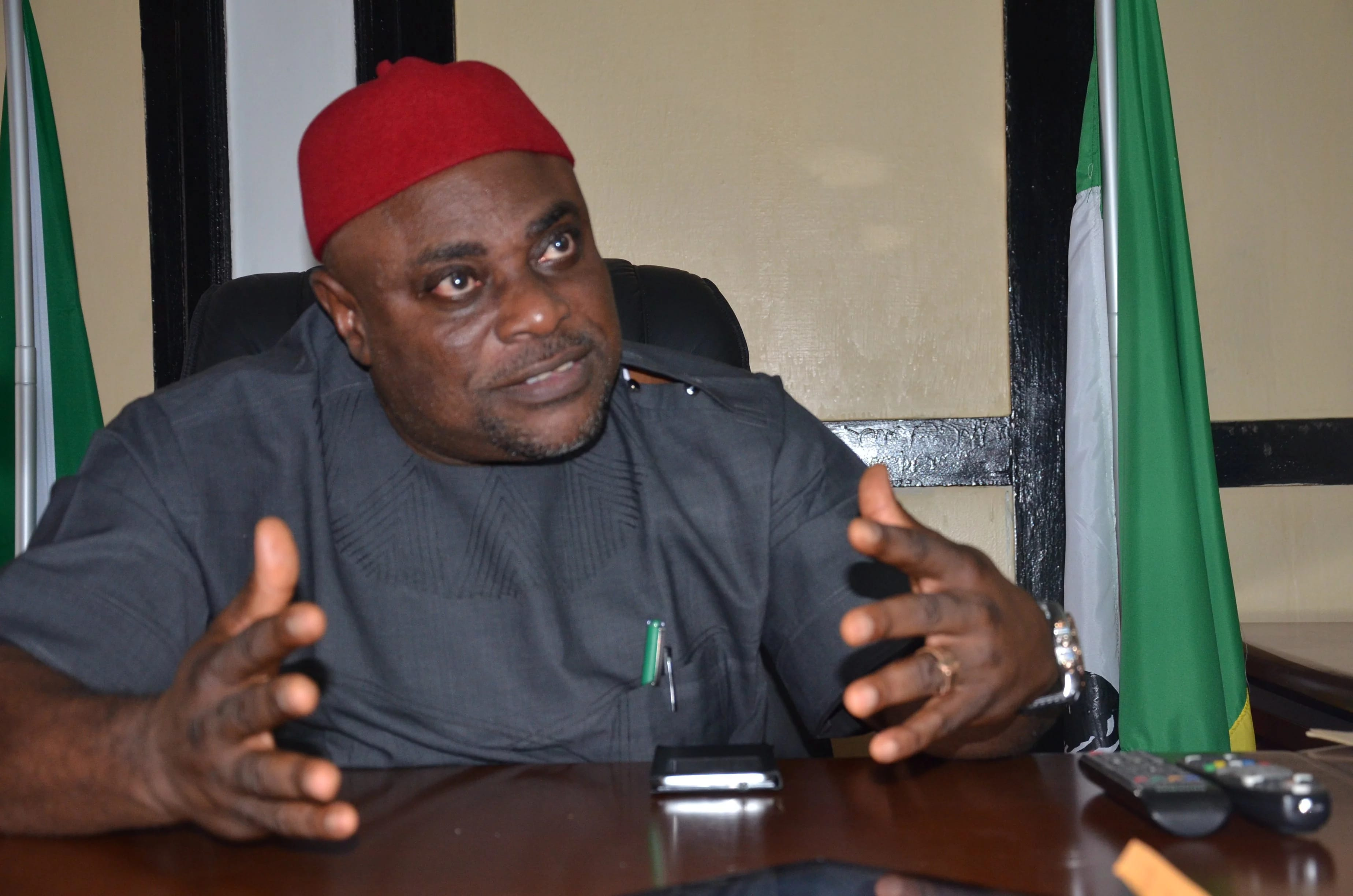 APGA Victor Oye - Real reason APGA is in crisis - National Chairman, Oye