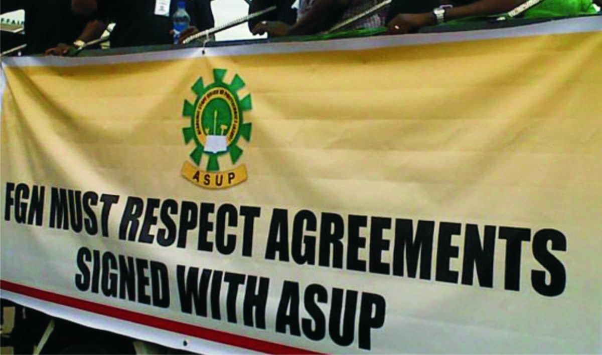 ASUP - ASUP may consider IPPIS enrolment for members