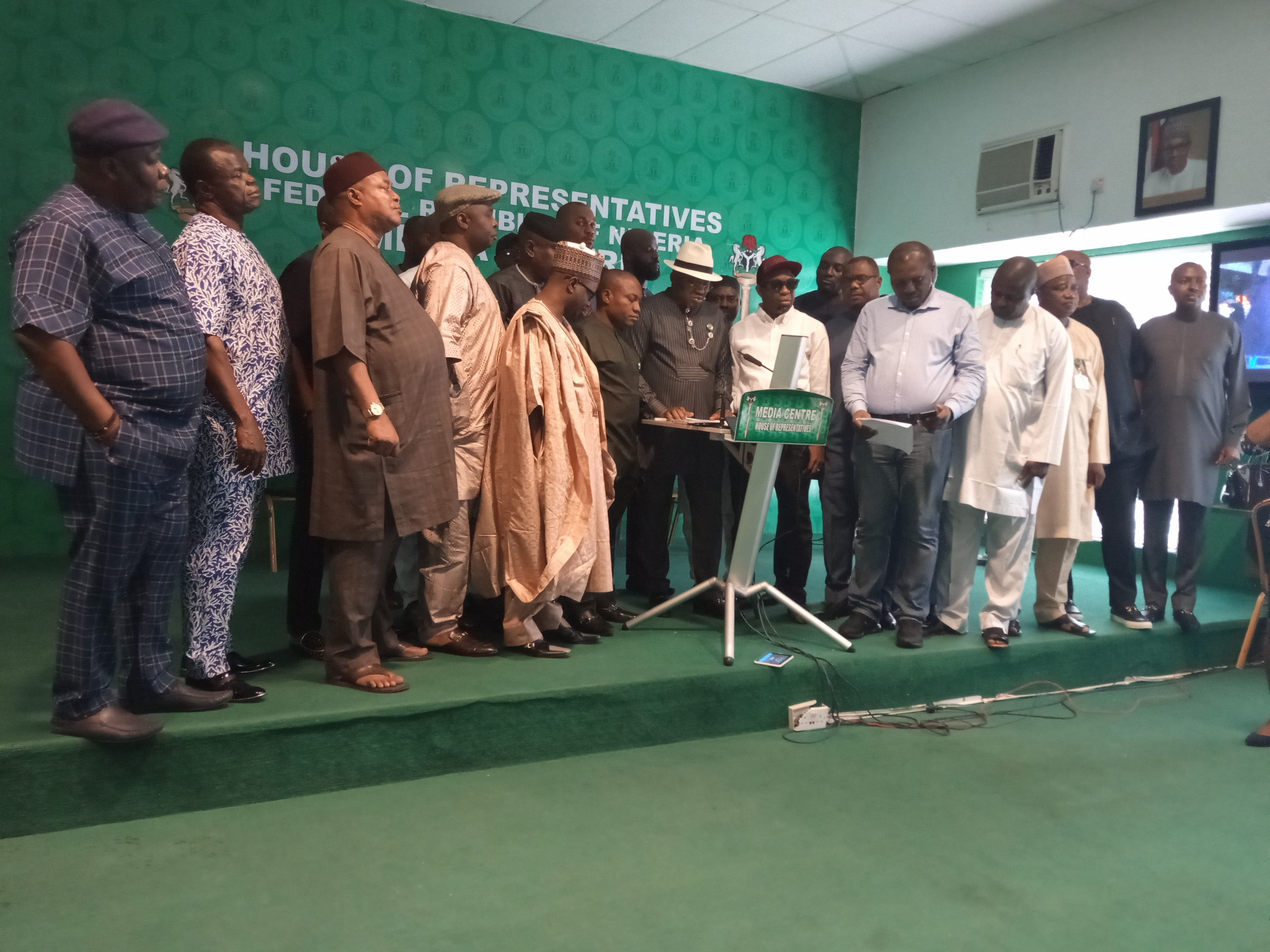 IMG 20190708 130758 7 - Reps PDP caucus begs party to lift suspension on Elumelu, Okechukwu, others