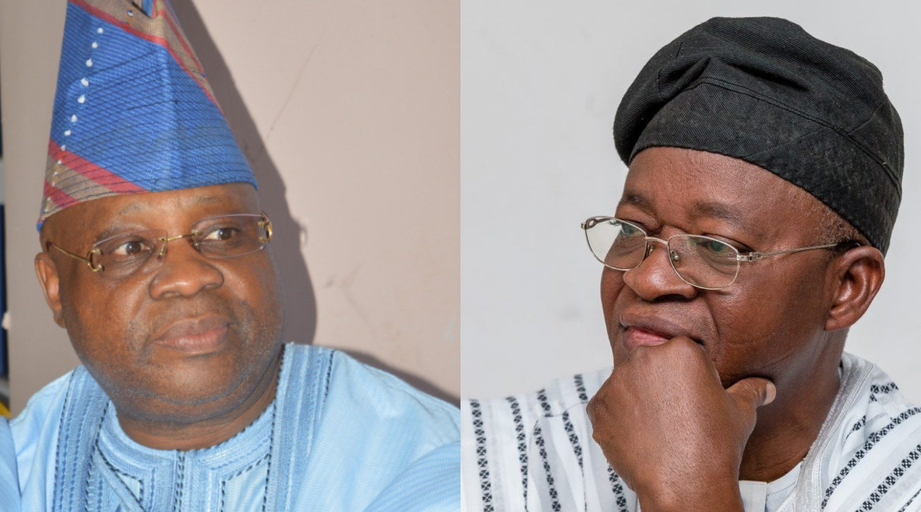 adeleke vs oyetola - Osun: APC national leadership reacts to Oyetola's victory over Adeleke