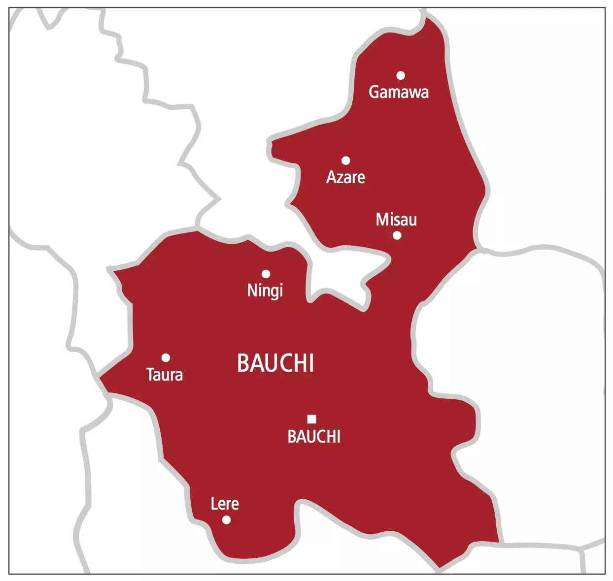 The Bauchi State Government Has Ordered A 14 Day Lockdown And Closure Of All The State Borders With Effect From 6 Pm. On April 2, As Part Of Efforts To Control The Spread Of Coronavirus In The State.