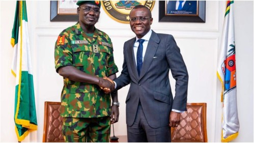 Image result for  Insecurity : Sanwo-Olu Expresses Concern, Buratai Vows To End It