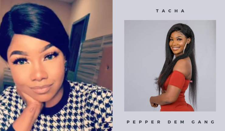 BBNaija 2019: Tacha semi-n9de photos leaked from her friends