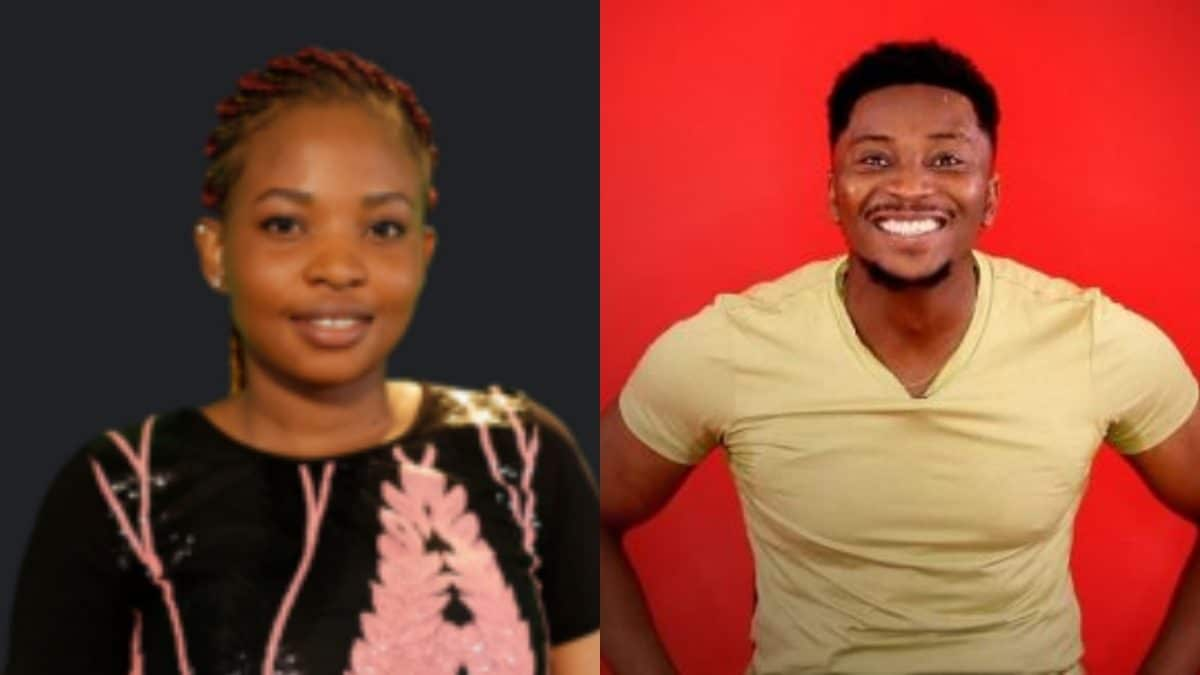 Cindy Sir Dee - BBNaija: Cindy kisses Sir Dee [VIDEO]