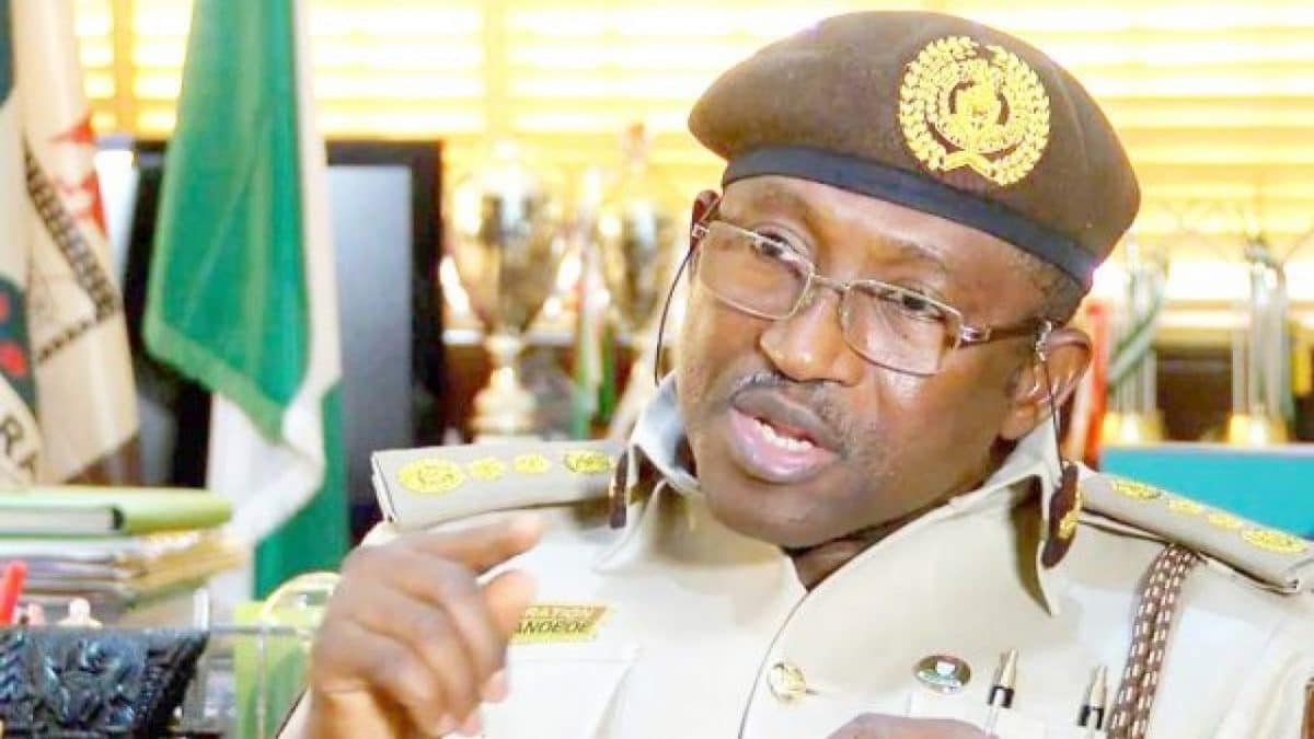 The Comptroller General Of Nigeria Immigration Service Muhammad Babandede, Has Tested Positive To The Corona Virus Disease, An Official Has Disclosed. A Statement By Dci Sunday James, The Service Public Relations Officer, Disclosed That The Immigration Boss Had Been On Self Isolation Since