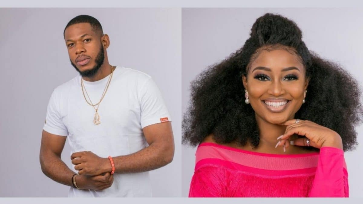 bbnaija update esther n frodd - BBNaija: Why I didn't allow Frodd to touch me inappropriately -Esther