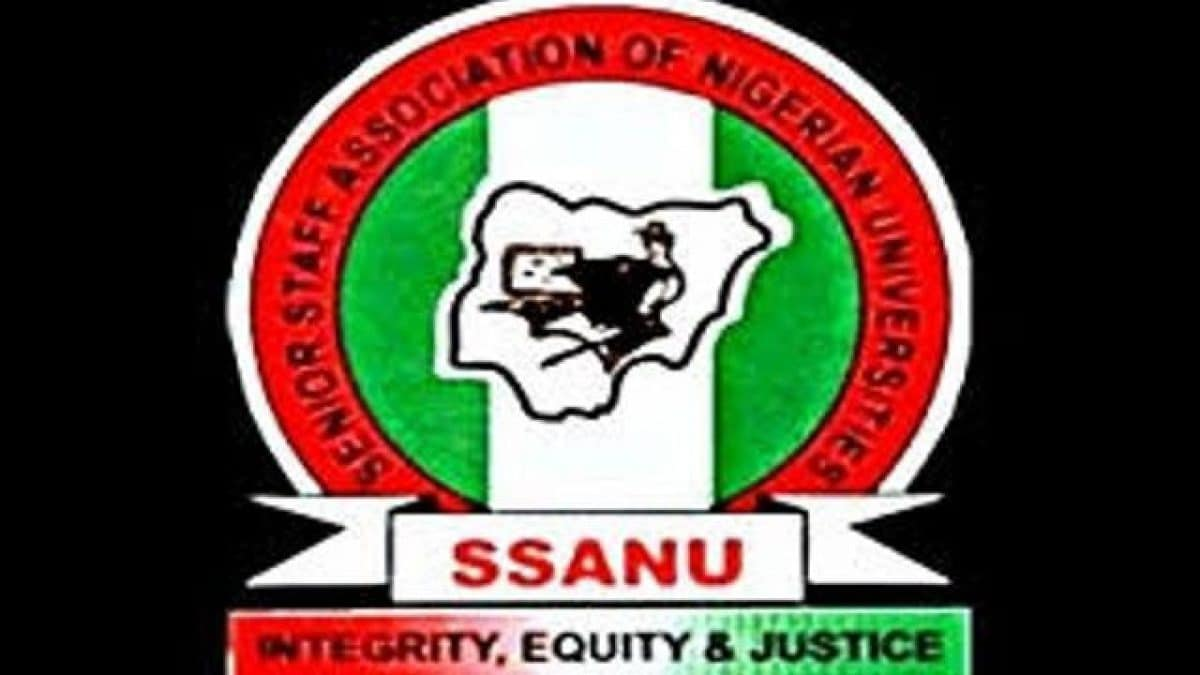 Senior Staff Association Nigerian Universities Ssanu Or Federal Government