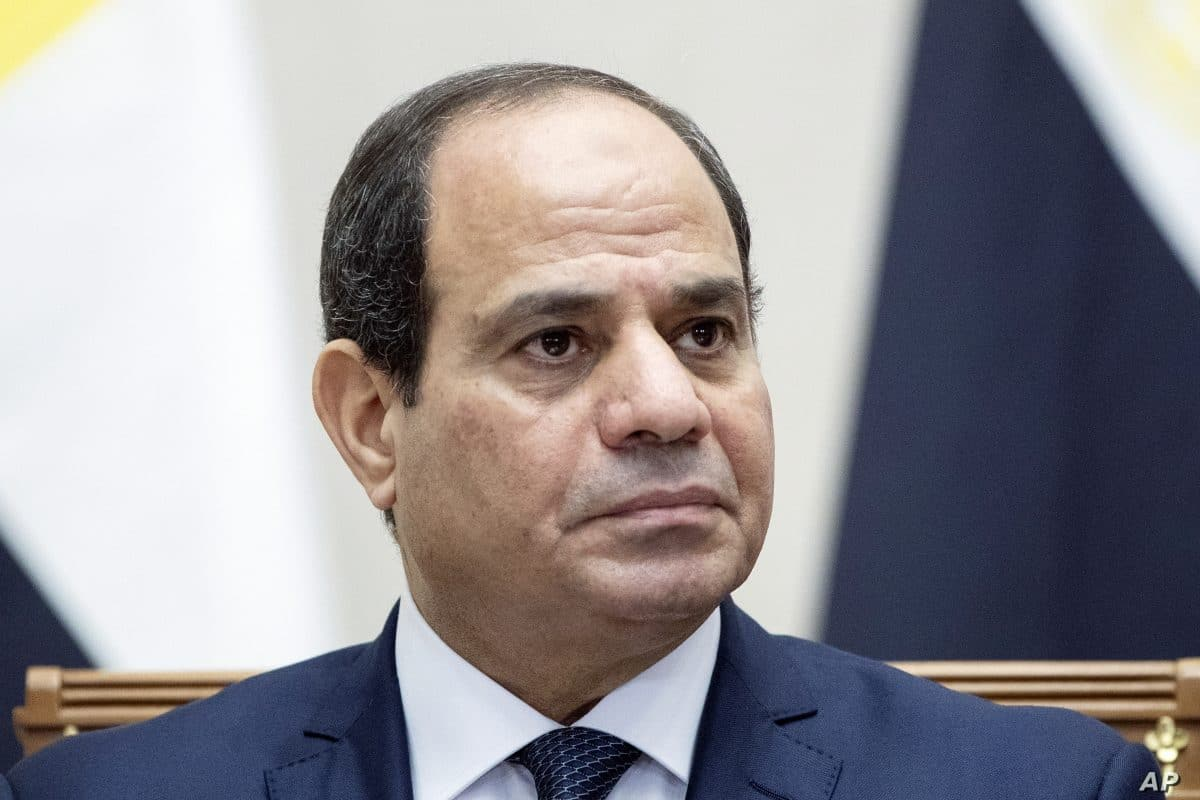 Security Up At Iconic Cairo Square After Anti Al Sissi Protests