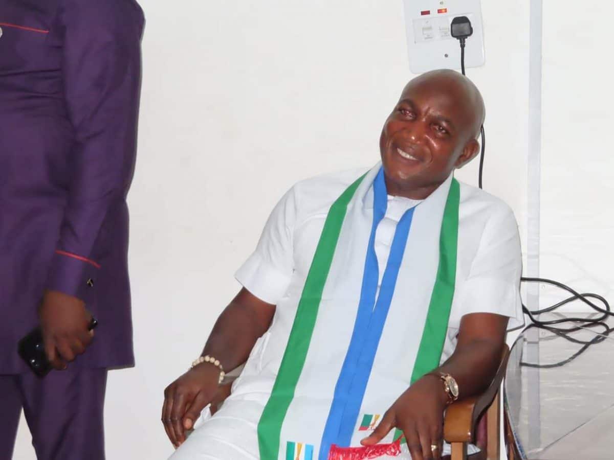 Chief David Lyon - Bayelsa election: Candidate woos Jonathan's supporters