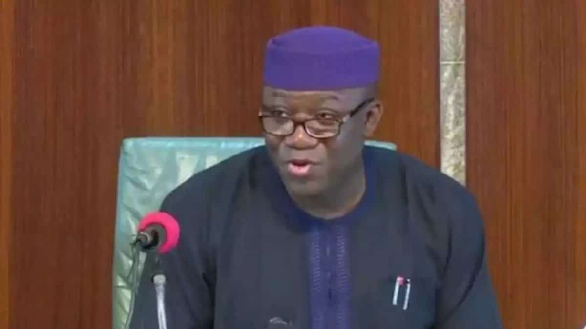 Gov. Kayode Fayemi Of Ekiti Has Commended Eminent Persons Appointed Into The State Covid 19 Response Resource Committee For Accepting To Serve. This Was Contained In The Governor's Inaugural Mess