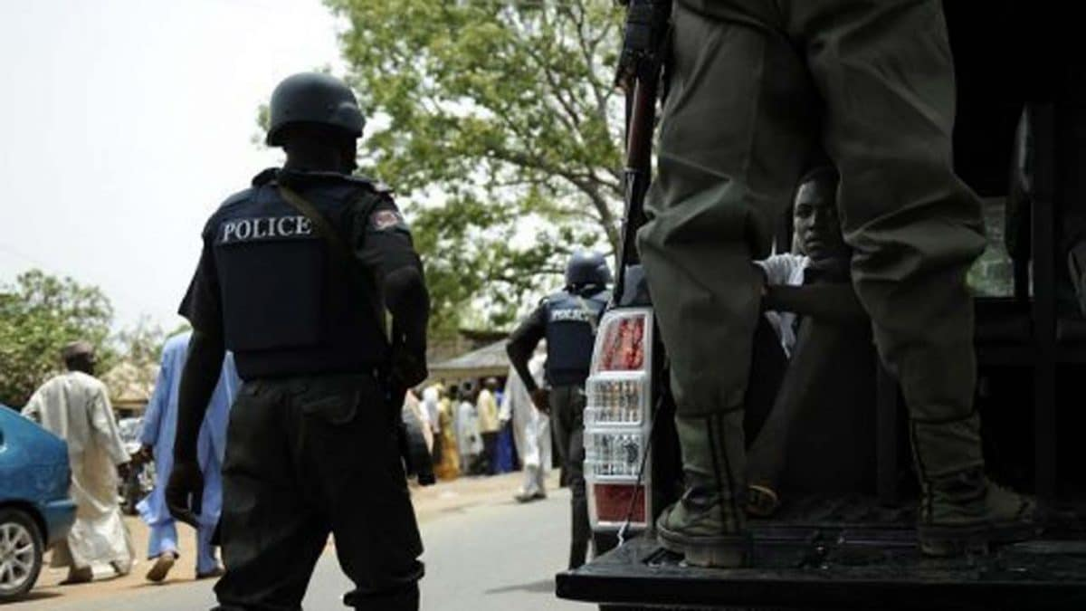 Nigeria police - Police nab 2 suspects over attempted robbery, illegal arms possession