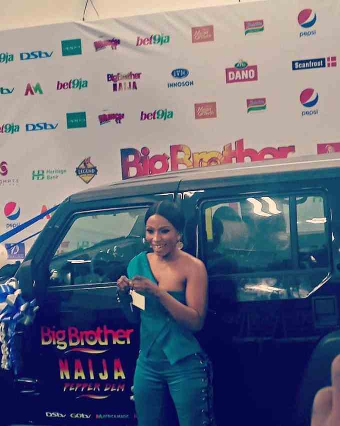BBNaija Mercy and Her Car