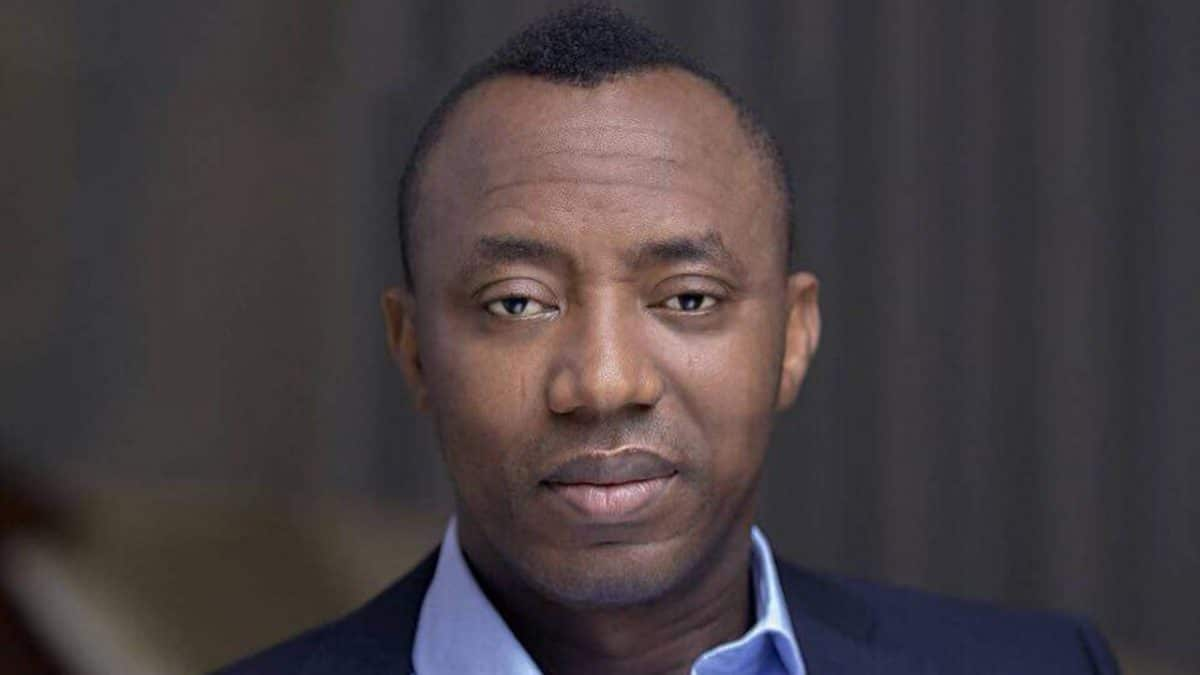 sowore - DSS says no surety to take delivery of Sowore